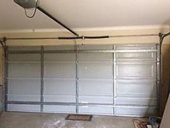 Tilt panel door